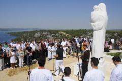 Svečana primopredaja najvišeg kipa Majke Božje u Hrvatskoj, 14.08.2011.