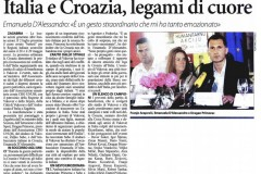 "Humanitarian initiative ""Croatian heart for Italy"", Vukovar, 02.07.2012."