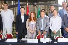 """Najava humanitarnog spektakla """"Hrvatsko srce za Italiju"""", Zagreb, 26.6.2012."""