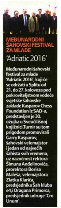 Slobodna Dalmacija 4.4.2016.