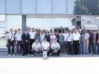 Prijem delegacije kod gradonačelnika Vukovara Željka Sabe