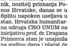 CRO UNUM pomogao branitelju Alenku Baraču da se useli u stan nakon 15 godina