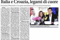 "Humanitarian initiative ""Croatian heart for Italy"", Vukovar, 02.07.2012."