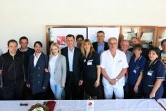 """Najava humanitarno-glazbenog spektakla """"Srcem za djecu'' za Kliniku za dječje bolesti KBC Split, Split, 25.04.2014."""