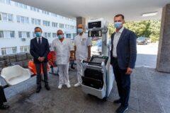 Splitskom KBC-u stigla donacija, mobilni RTG uređaj vrijedan 680.000 kuna koji će pomoći liječenju oboljelih od covida-19