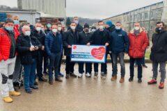 Udruga Cro Unum dopremila tri kamiona s hranom i opremom u Glinu, susreli se s unesrećenima